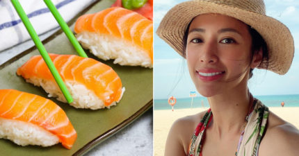 為爽吃免費壽司「當鮭魚」!李蒨蓉憂「輕看自己價值」:現在的年輕人怎麼了