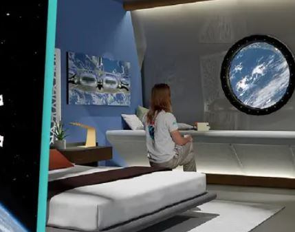 史上第一家「太空飯店」2027開幕!超美「旋轉式外型」設計:不想回地球了