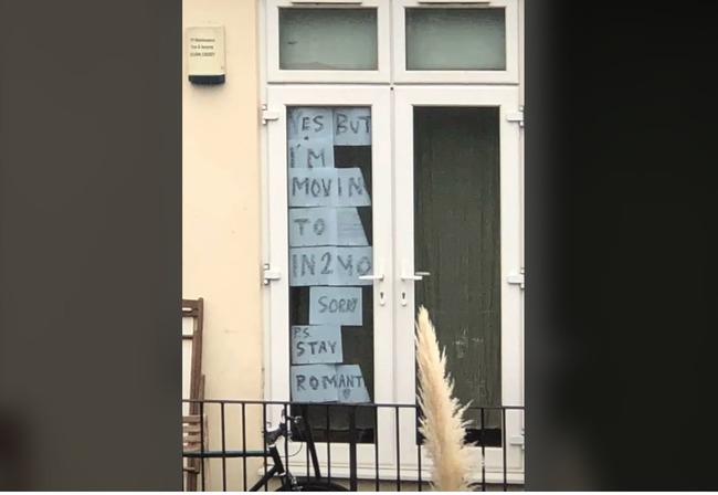 男鄰居「彈吉他」超帥!勇敢女告白「窗貼大字」...對方回覆嗨爆