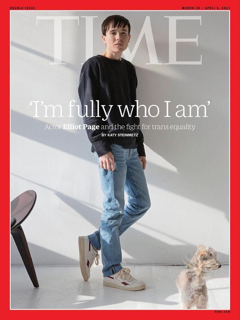 《全面啟動》艾略特佩吉正式「切乳」 《時代》封面史上「第一位跨性別者」