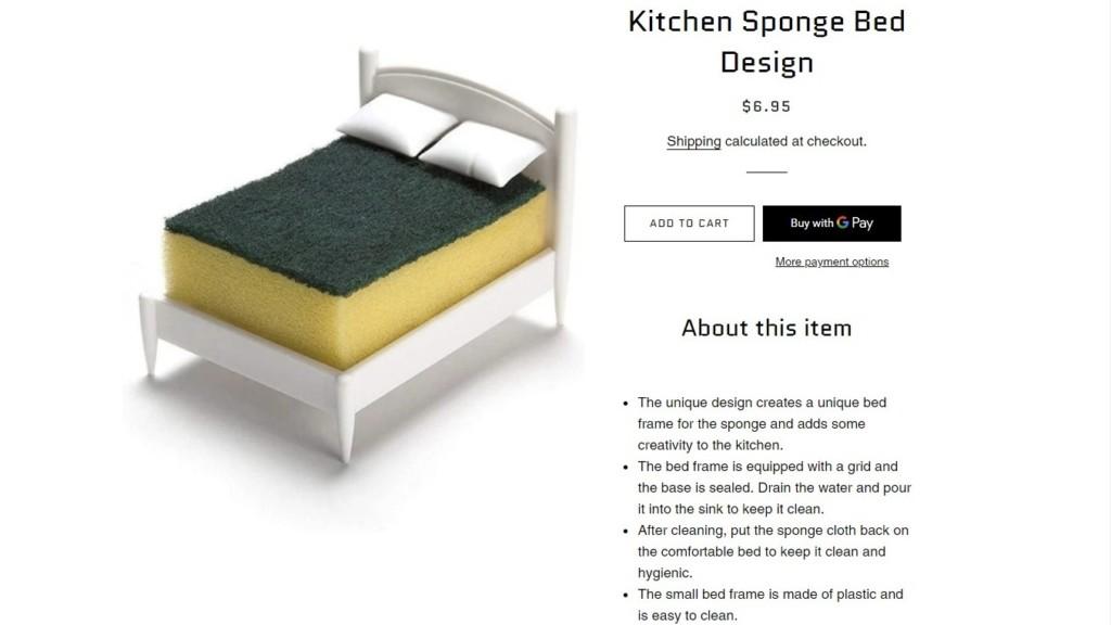 老婆網購200元「海綿床」送兩枕頭!「購物網超獵奇」老公傻眼:這是啥