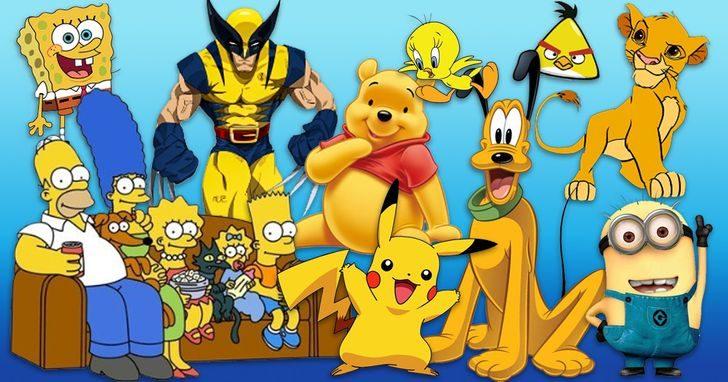 卡通人物「都是黃色」不是巧合?專家解釋原因了