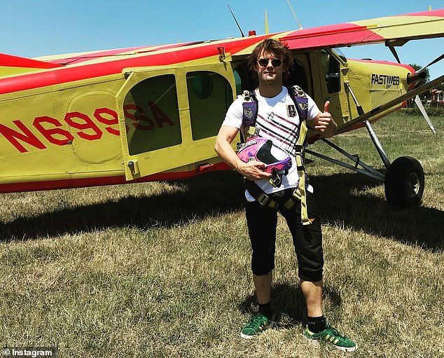 俄羅斯籍極限運動玩家迪米崔dimitri跳傘意外