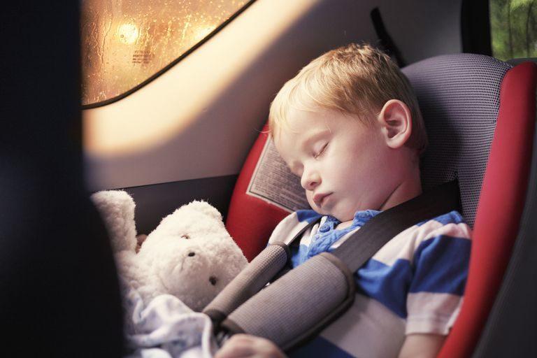 3歲童被忘在車上