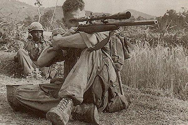 越南「超神女狙擊手」美軍嚇瘋!被「上廁所姿勢」出賣...當場擊斃