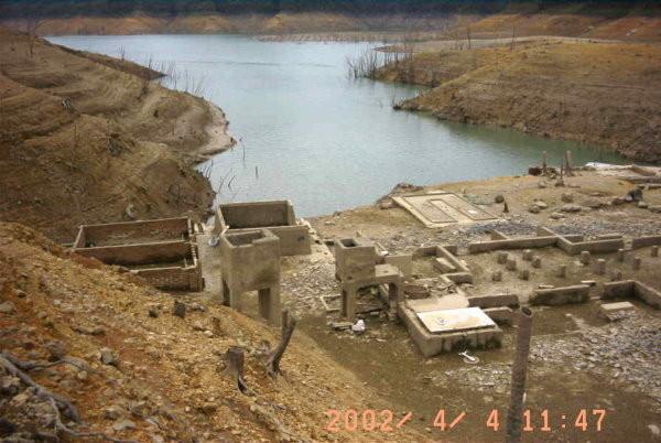台灣也有「亞特蘭提斯」?翡翠水庫下「埋藏35年」只露面一次