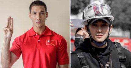 緬甸最帥和尚「亞洲水行俠」抗爭被捕!50士兵抓走「IG蒸發」:做最壞打算