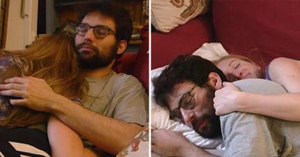 人妻每晚付千元「躺陌生男懷裡」才能入睡 丈夫:我相信她沒出軌