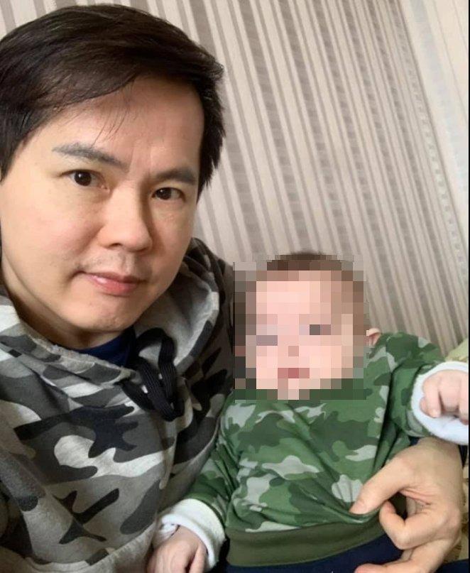 台父找代孕「受困烏克蘭」 「沒錢買奶粉」他拍片哭求:不想丟下小孩