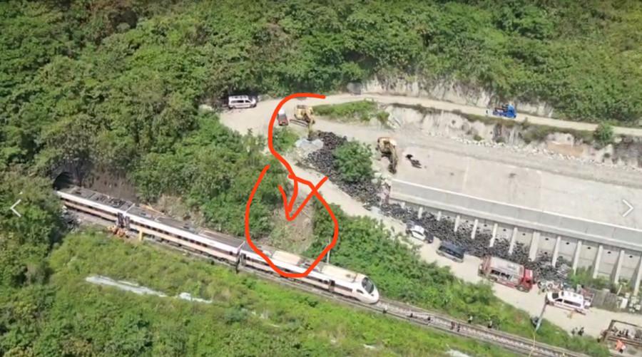 太魯閣號累計48人罹難!鄉民Google街景神出「工程車事發前影像」