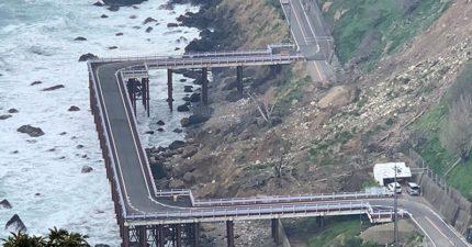 土石流沖垮公路!創意蓋「ㄈ字直角橋」直接繞過去
