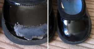 女兒新鞋「3週就磨損」!省錢媽分享「一招神修復」:又能撐好幾個月
