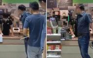 影/女店員「碰到她手背」 襯衫男髒話飆罵:是男的我早揍妳
