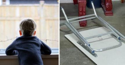 台中3歲童「折疊桌夾胸」送醫亡!醫:幾分鐘就沒命