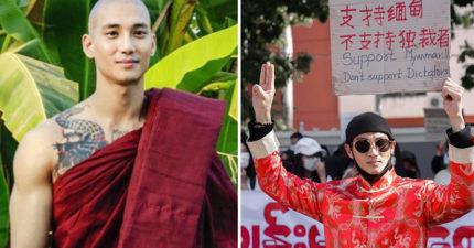 緬甸「最帥和尚」傳要關10年!「憔悴近況照」粉絲崩潰:拜託放了他