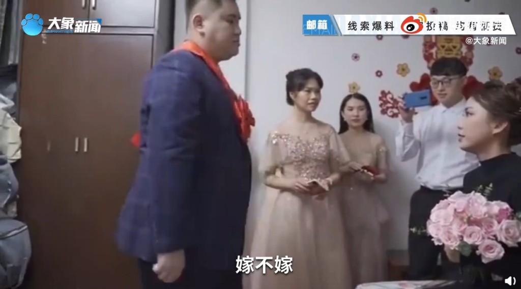 影/伴娘強迫「念結婚誓詞」 新郎爆氣怒撕「做不到,嫁不嫁?」