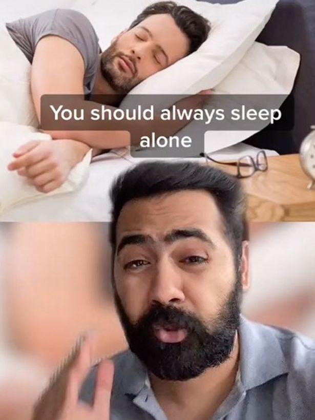 夫妻分開睡