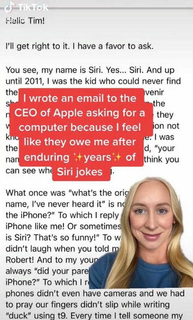名叫Siri要求免費電腦作賠償