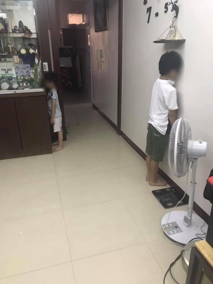 延長停課家長吃不消!崩潰狂曬「小孩罰站照」連老公也被罰