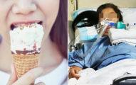 她吃一口冰淇淋後頭痛!昏倒送醫「變植物人」