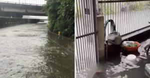 彰化豪雨成災「汽車幾乎滅頂」 從客廳淹到廚房...民眾嘆:怎麼住