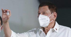 杜特蒂又推超狂防疫 菲律賓祭鐵腕政策「不打疫苗就坐牢!」