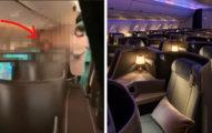 神秘男飛美「包整區商務艙」 被換位旅客氣炸:有錢就可以這樣?