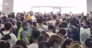 「1.4萬人看日出」擠爆泰山 等不到纜車遊客爆衝:開門!