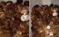 他拿「漂白水泡硬幣」殺菌 下場超慘網友笑:不知道洗錢違法?
