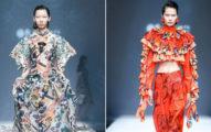 又辱華?北京清大時裝秀用「鳳眼模特兒」 陸網怒:自我醜化!