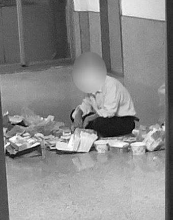 文大爆「學生翻垃圾找食物吃」通知教官不理!學校終於回應