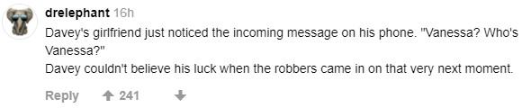 遇搶劫照吃雞腿