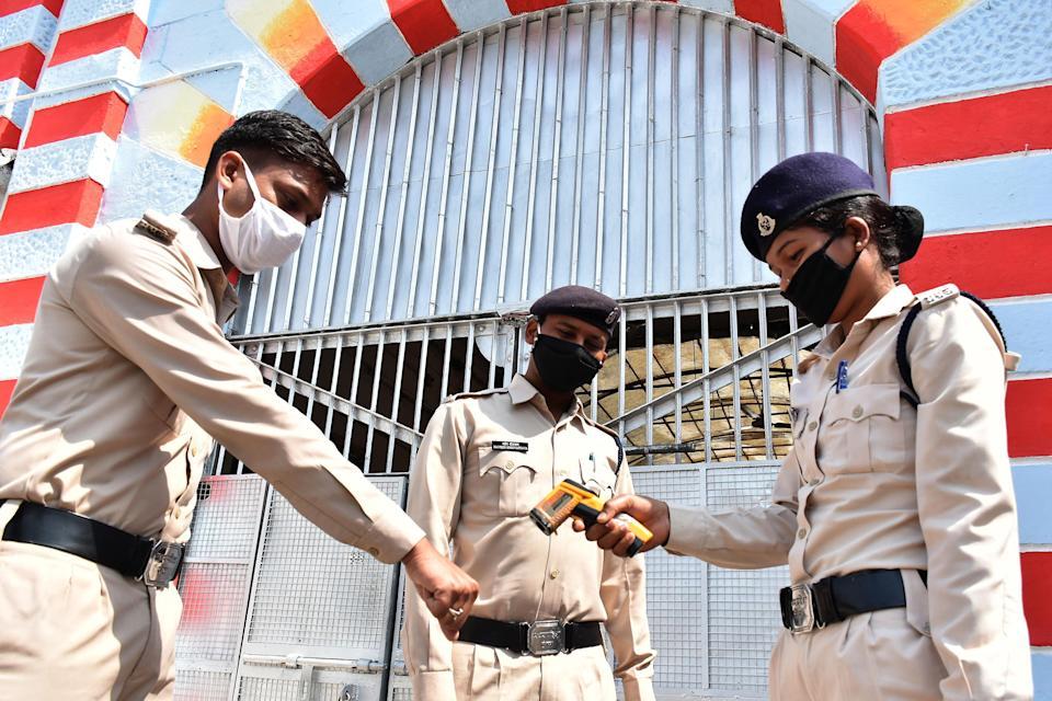 印度囚犯留獄防疫