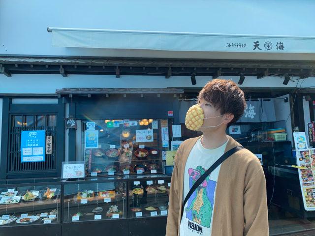 日本人無極限!推出「菠蘿麵包口罩」不只可以戴還真的能吃?