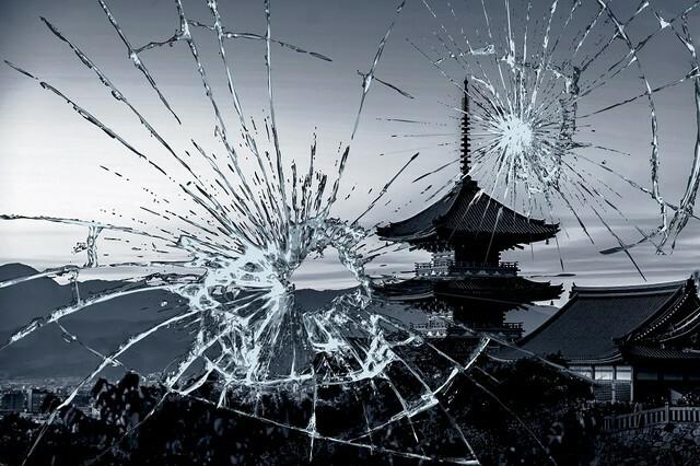 京都瀕臨破產