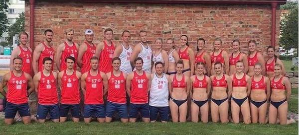 挪威女子排球队拒穿比基尼