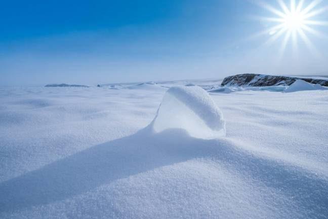 北極夏天48度