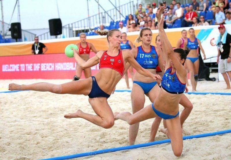 挪威女子排球隊拒穿比基尼