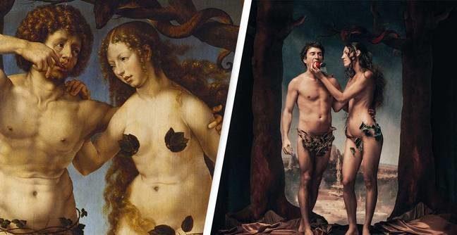 色情網站重現古代色色畫作