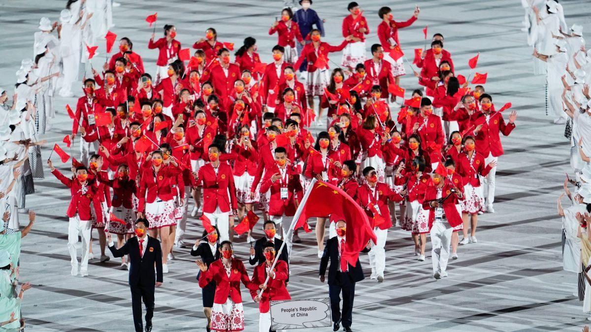 日本金牌超過中國