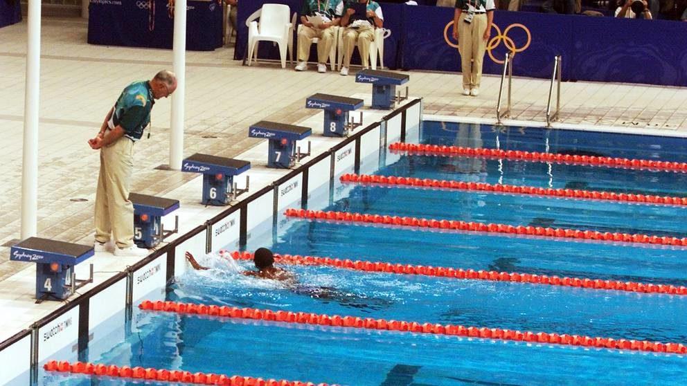 奥运游泳史上最慢