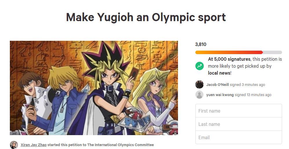 奧運比遊戲王卡