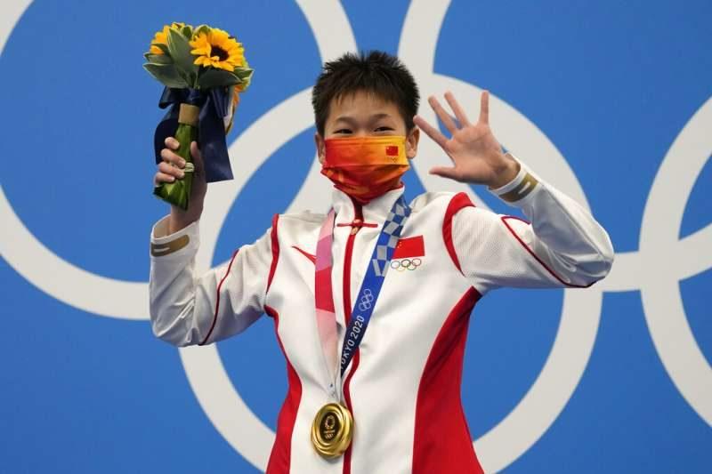 14歲跳水選手全紅嬋-2