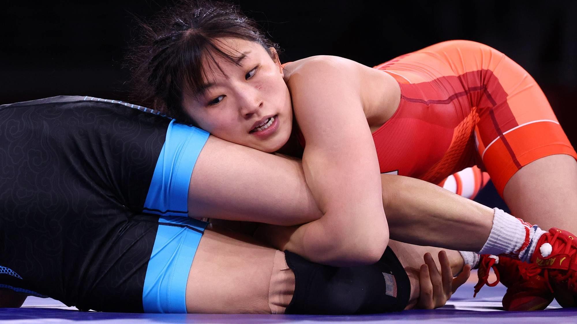 日本女摔角手96秒奪冠