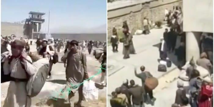 塔利班開監獄放囚犯