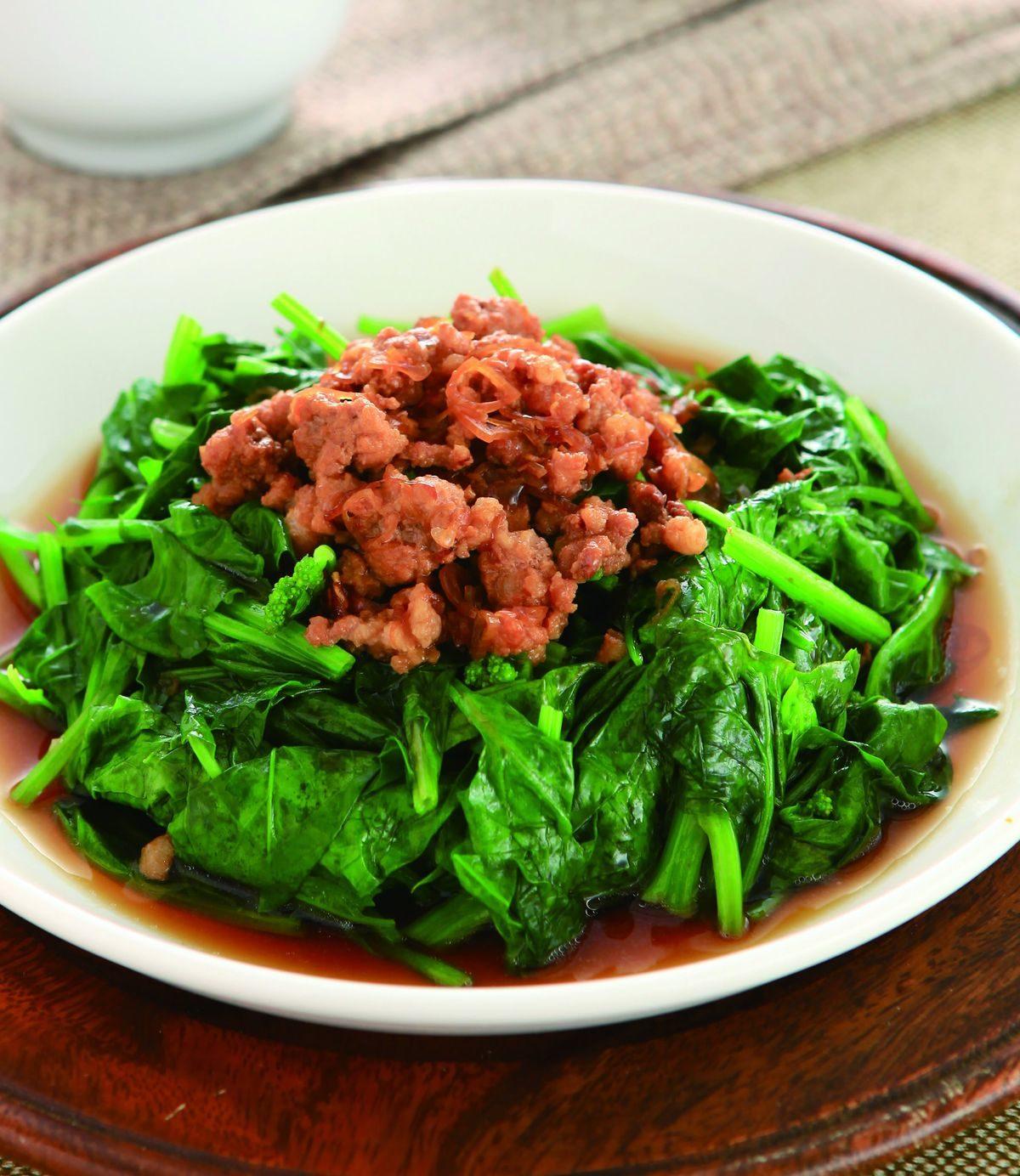 燙青菜賣豆芽菜